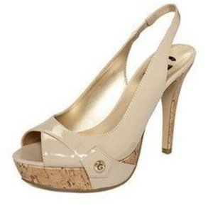 G by Guess Patent Slingback Pumps
